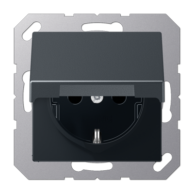 Розетка с заземляющими контактами 16 А / 250 В~, с откидной крышкой и уплотнительной мембраной IP44, 551wu + A1520BFKLANM купить по цене 1399 руб. | Интернет-магазин JUNG-PRO